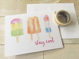 watercolor notecards free summer watercolor note cards printable greeting cards