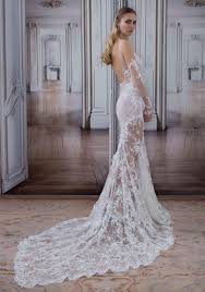 pnina tornai wedding dresses by pnina tornai suggestive illusion mermaid wedding gown