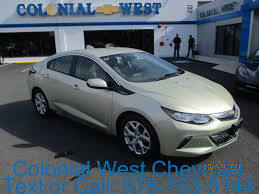 2017 chevrolet volt premier in citron green metallic for sale in
