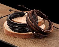 leather rope bracelet images Handmade leather rope bracelet pretty fly buy jpg