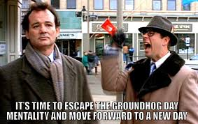 Bill Murray Groundhog Day Meme - marketers groundhog day is finally over multichannel merchant