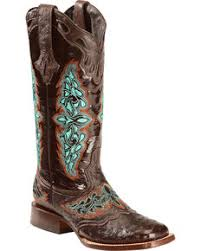 womens quill boots s square toe boots size 7 1 2 w country outfitter