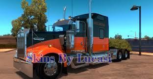 kenworth t900 australia kenworth w900 harley davidson skin mod american truck simulator