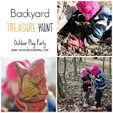 backyard treasure hunt backyard treasure hunt rain or shine mamma