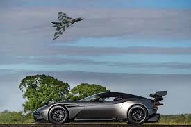 aston martin vulcan front vulcan meets vulcan aston martin u0027s bomber fly past photo op by