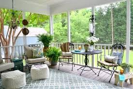 best decorating a screened porch contemporary interior design