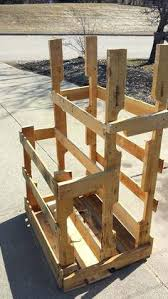 Building Wood Shelf Garage by All About Lumber Storage Fine Woodworking Articlehow To Build Wood