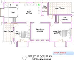 2800 square feet 4bhk kerala luxury home design with plan home