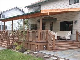 simple backyard deck designs patio tub ideas simple back yard