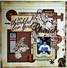 86 best thanksgiving fall scrapbook layouts images on