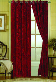 Maroon Curtains Velvet Curtains Bed Bath And Beyond 4 Ideas About Velvet Curtain