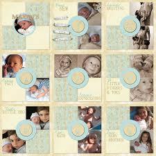 baby album vintage baby album scrapbook kit