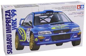 wrc subaru 2015 subaru impreza wrc u002799 1 24 cars tamiya amazon co uk toys