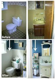 l fter badezimmer guest bath makeover on a budget before after badezimmer und