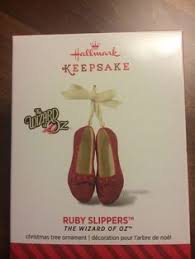 2014 ruby slippers wizard of oz hallmark ornament hooked on