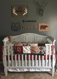 best 25 crib bedding boy ideas on pinterest woodland nursery