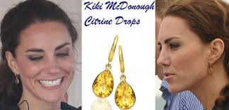 mcdonough citrine drop earrings kate keeps warm in lk temperley your favorite