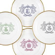 personalized dinnerware nicolas personalized dinnerware luxe