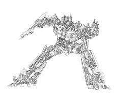 dessin a colorier transformers gif 526 822 pixels coloriage