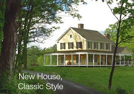 New Houses Being Built With Classic New England Style | new houses being built with classic new england style