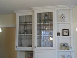 Kitchen Cabinets With Glass Inserts Interior Glass Kitchen Cabinet Doors Intended For Best Kitchen