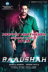 picture 230871 jr ntr in badshah movie first look posters new