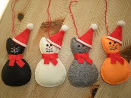 cat christmas 147 best christmas cat decorations images on christmas