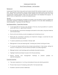 Customer Service Job Duties Resume by 43 Creative Catering Sales Manager Resume Samples For Job Seekers
