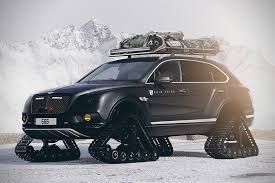 custom bentley bentayga bentley bentayga suv with tank tracks just might be the coolest