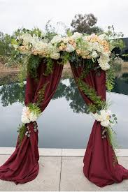 wedding altar ideas ceremony altar decor 2029141 weddbook