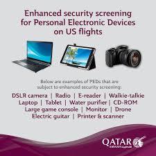 United International Baggage Allowance Travel To The United States Electronics Ban Lifted U2013 Qatar