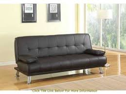 Faux Leather Sofa Sleeper Venice Faux Leather Sofa Suite Sette Sofabed With Chrome