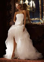 wedding dresses high front low back in the front in the back wedding dresses 85