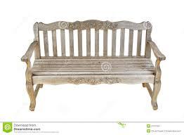 vintage wooden bench stock image image 20731951