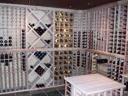 a wine cellar from scratch and vintner wine racking kits