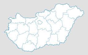 World Map Hungary by