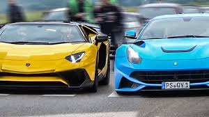 ferraris and lamborghinis lamborghini vs the sound battle