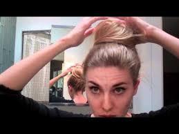 easy hairstyles for waitress s lauren conrad high bun topknot hair tutorial easy hairstyles