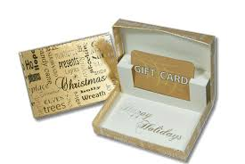 gift card packaging designed and manufactured by prestar