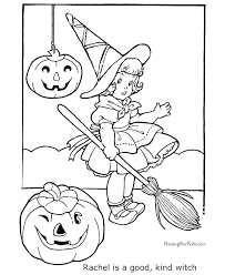 printable halloween coloring 007