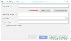 create apk how to create android app publishable apk file