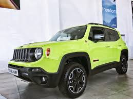 trailhawk jeep green 2017 jeep renegade trailhawk showroom storm jeeps