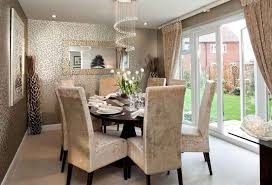 wallpapers designs for home interiors dining room wallpaper ideas for modern home interior igf usa