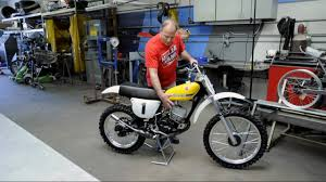 restored vintage motocross bikes for sale suzuki rm125 rh125 vintage motocross project from dave miller