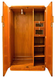 clothing armoires mirrored clothing armoire nice closet for placed modern middle