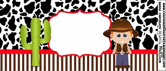 cowboy or western party free printable candy bar labels is it