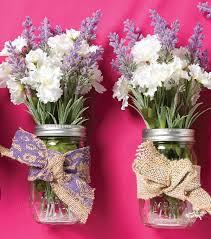 Mason Jar Floral Centerpieces How To Make Burlap Mason Jar Floral Arrangements Joann