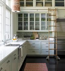walker zanger mizu pebb kitchen transitional with glass front