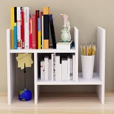 Small Desk Bookshelf Dormitory Desktop Bookshelf Room Storage Multi Layers Small