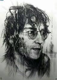 john lennon portrait drawing by realismart on etsy 195 00 the